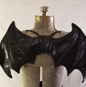 Other - Black Chibi Cosplay Bat / Demon Wings